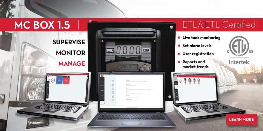 PIUSI - MC Box 1.5 - Fuel Transfer