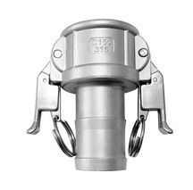 Self-Locking Camlock Coupler - Type C Stainless Steel