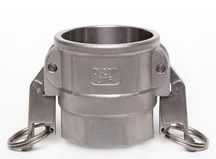 Self-Locking Camlock Coupler - Type D Stainless Steel