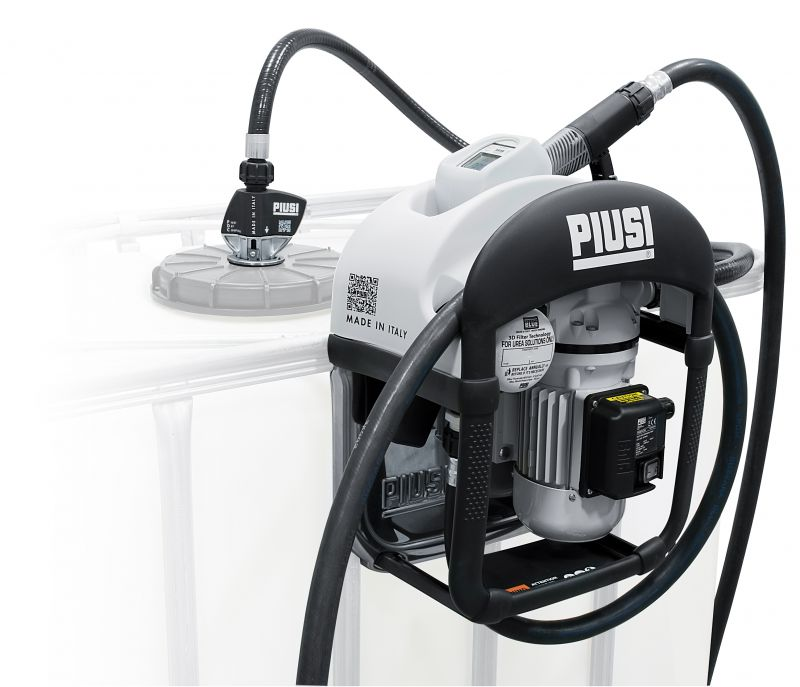 Three25 Piusi DEF Dispenser, Filter & Metered Auto Nozzle Included - 12V (9 GPM)