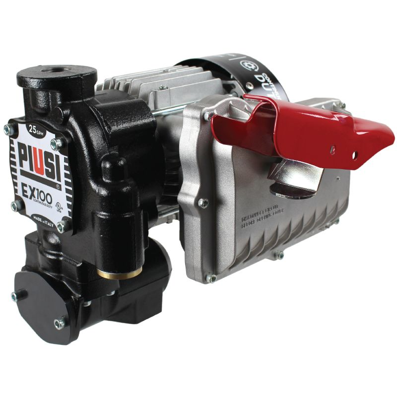 EX100 120V UL (25 GPM) Pump Only - PIUSI