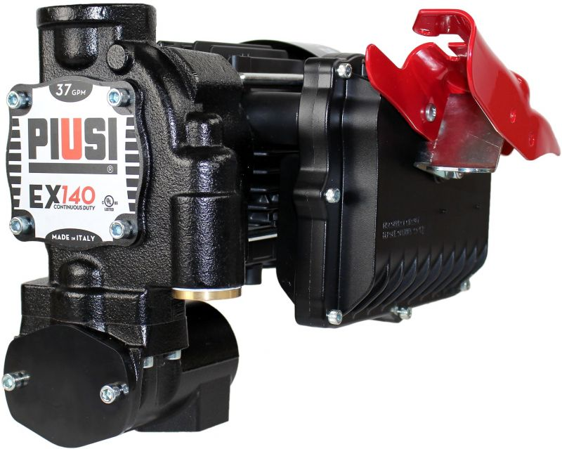 EX140 120V UL (37 GPM) Pump Only - PIUSI
