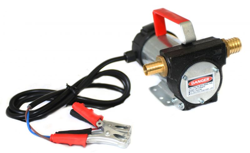 12V DC Fuel Transfer Diesel Pump - 10 GPM