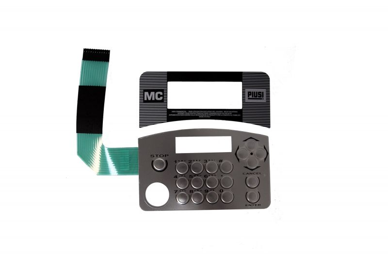 Cube 70 / MC Box Replacement SS Keypad Kit