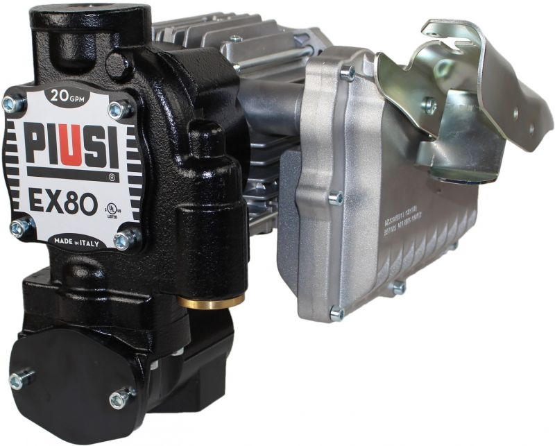 EX80 120V UL (20 GPM) Pump Only - PIUSI