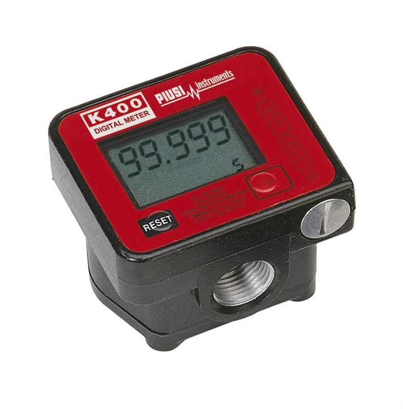 "K400 Digital Diesel Meter, Battery Powered, 1/2"" NPT - (7.9 GPM)"