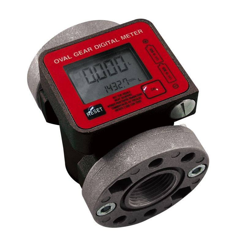 "K600/3 Digital Diesel/Oil Flow Meter, Battery Powered, 1"" NPT (26.4 GPM)"
