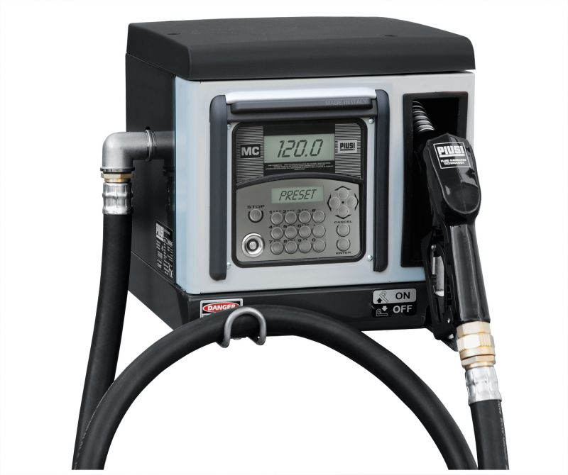 "Cube 70 MC (120 User) Diesel Fuel Management System - 120V/60Hz (PIUSI) - (1"" NPTF Inlet) 15 GPM"