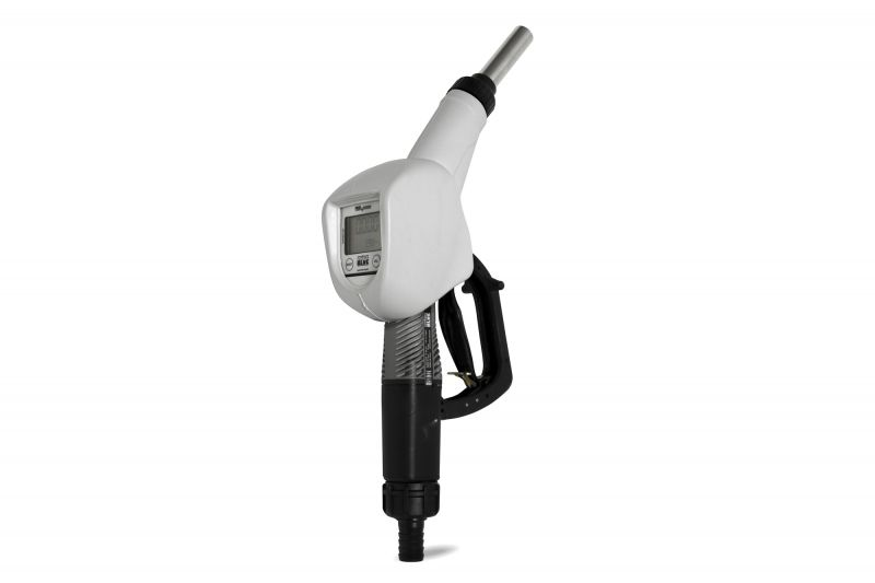 """SB325 Metered Automatic Nozzle, 3/4"""" Inlet, 19mm Spout - w/ Meter (9 GPM)"""