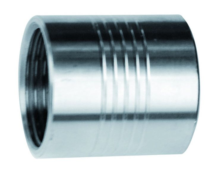 "Stainless Steel Coupler 1""BSP / 1"" NPT"
