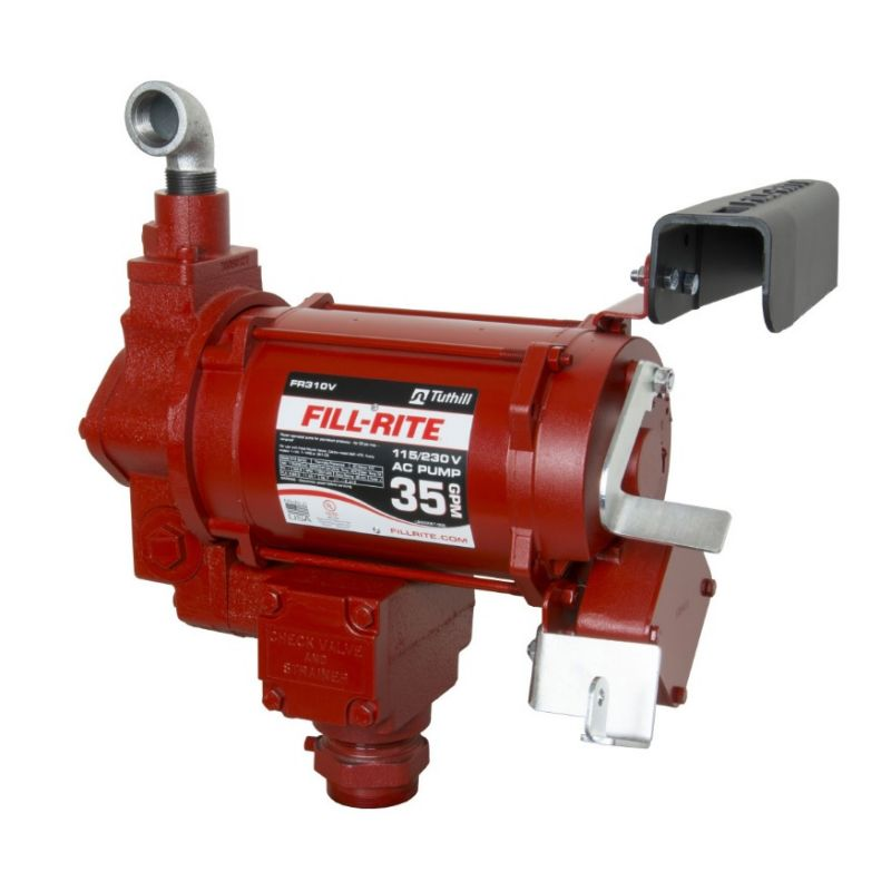 "Fill-Rite 115V/230V 1-1/4"" Inlet / 1"" Outlet - 35 GPM (Pump Only)"