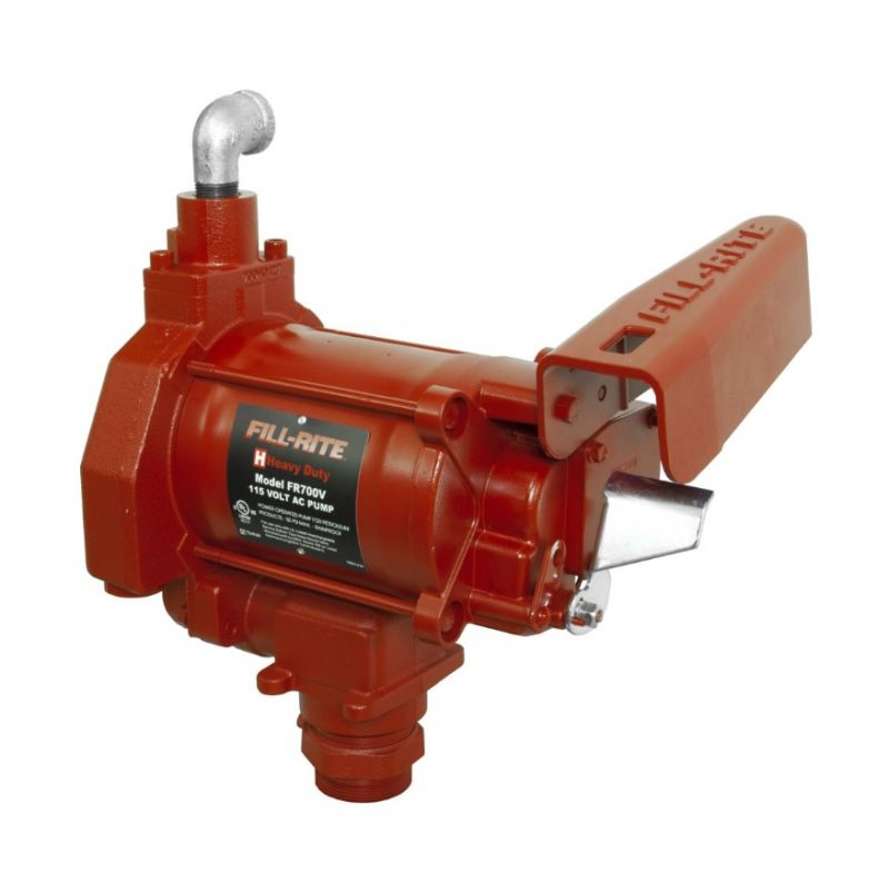 "Fill-Rite 115V 1-1/4"" Inlet/ 1"" Outlet - 20 GPM (Pump Only)"