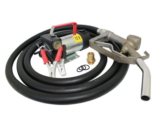 12V DC Fuel Transfer Diesel Pump Kit - 10 GPM