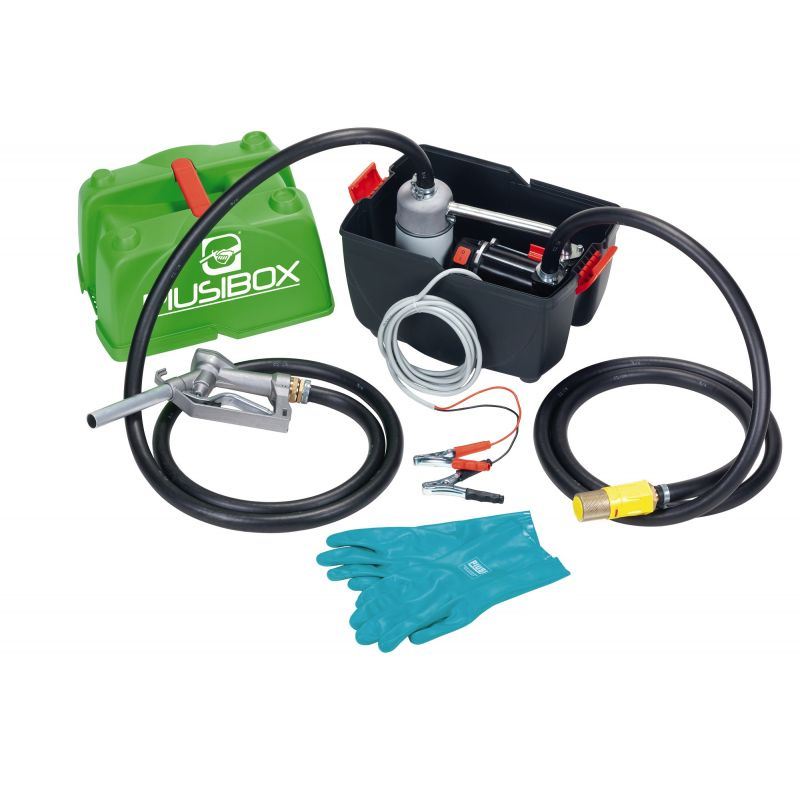 12V Piusi Box Pro Diesel Pump Kit - 12 GPM