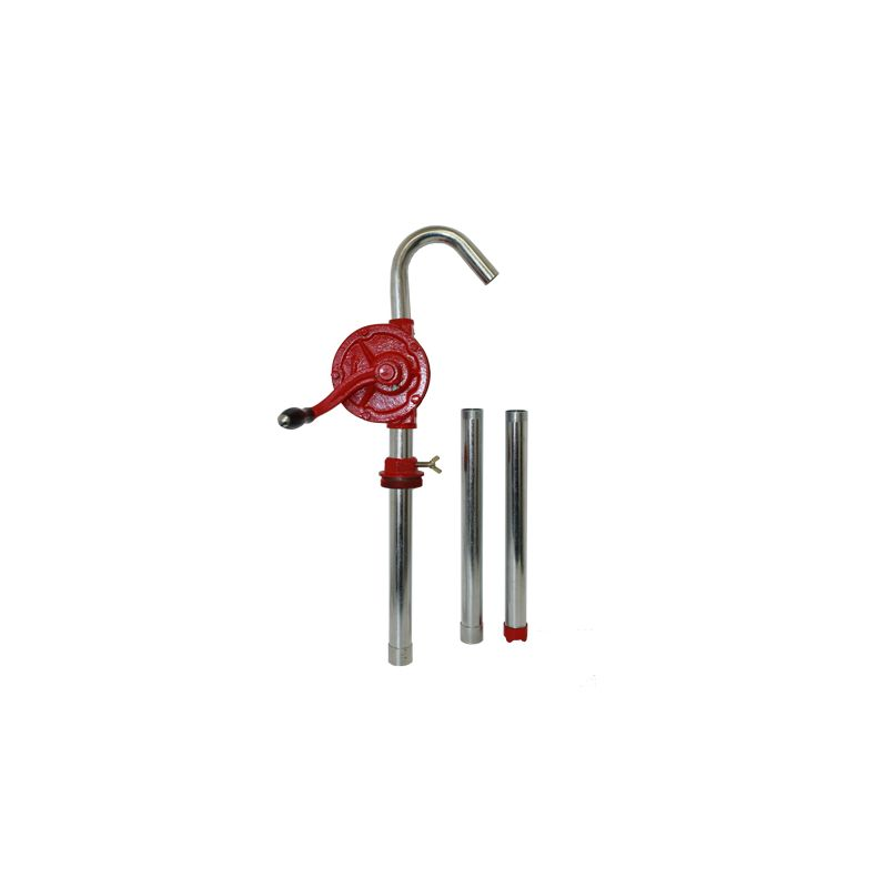 "Cast Iron Diesel Rotary Hand Pump - 2"" NPT (Suction Pipe Included)"
