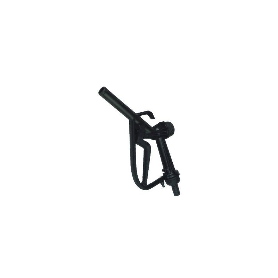 Fuel Transfer Black Plastic Manual Diesel/BioDiesel Fuel Nozzle