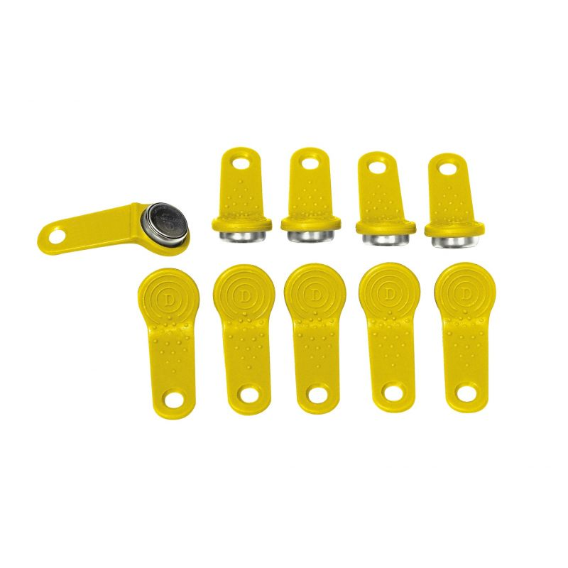 Cube 70 / MC Box Yellow User Keys (10 per pack)
