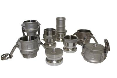 Stainless Steel Camlock Fittings & Ball Valves!
